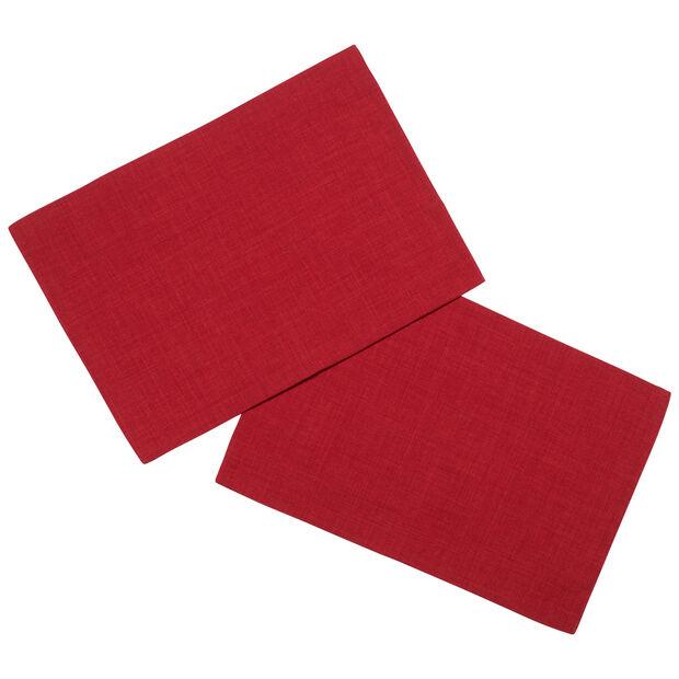 Textil Uni TREND Placemat red S2 35x50cm, , large