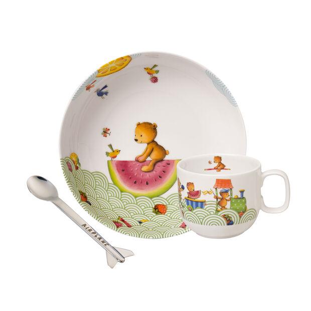 Hungry as a Bear Children's crockery set, 3 pcs., , large