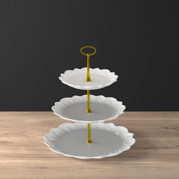 Toy's Delight Royal Classic cake stand, white