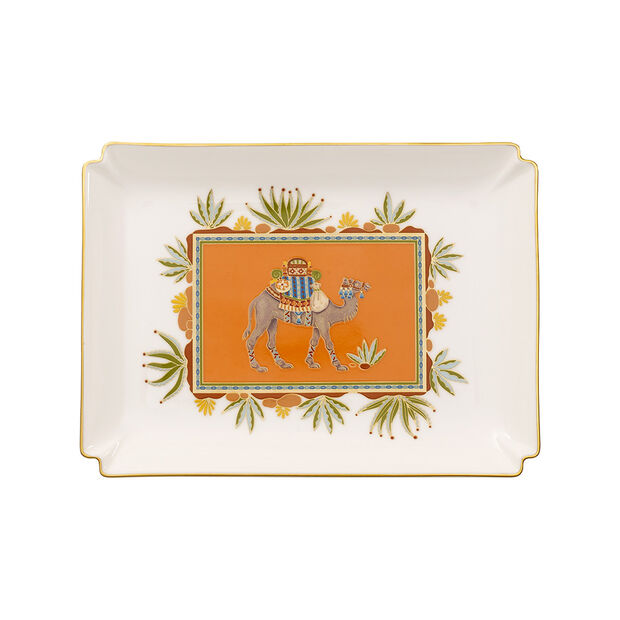 Samarkand Mandarin Gifts Decorative plate large 28x21cm, , large