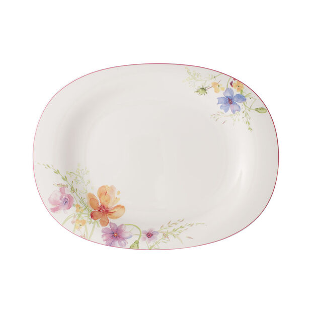 Mariefleur Basic serving plate 34 cm, , large