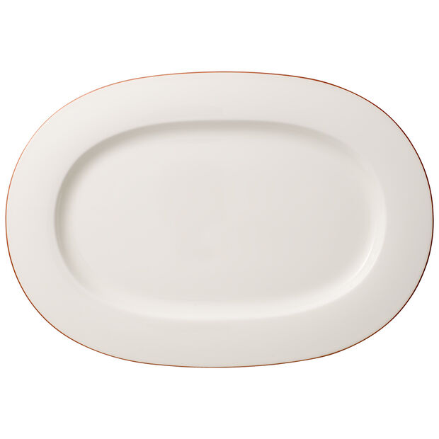 Anmut Rosewood oval plate, , large