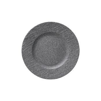 Manufacture Rock Granit breakfast plate, 22 cm, Grey
