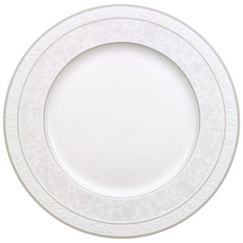 Gray Pearl round flat plate