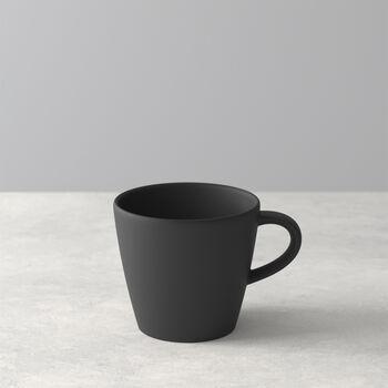Manufacture Rock coffee cup, black/grey, 10.5 x 8 x 7.5 cm