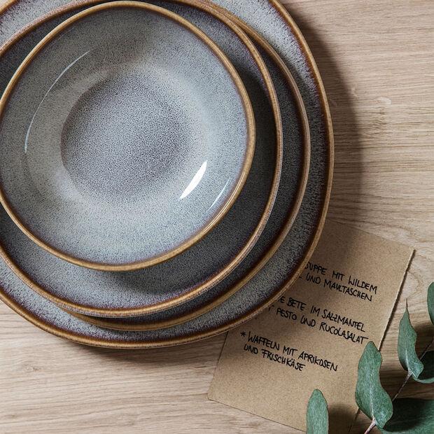 Lave Beige breakfast plate, beige, 23.5 x 23 x 2.6 cm, , large