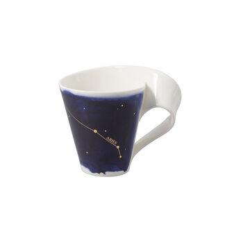 NewWave Stars mug Aries, 300 ml, blue/white