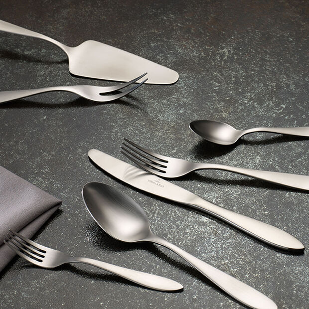 Arthur brushed cutlery set 68 pieces, , large