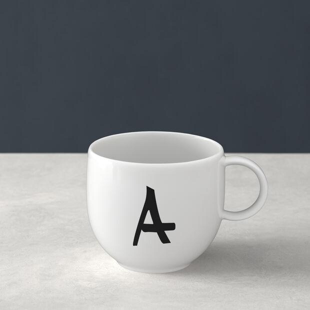 Letters Mug A 13x10x8cm, , large