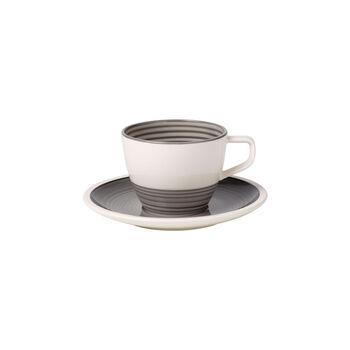 Manufacture gris Coffee cup & saucer 2pcs