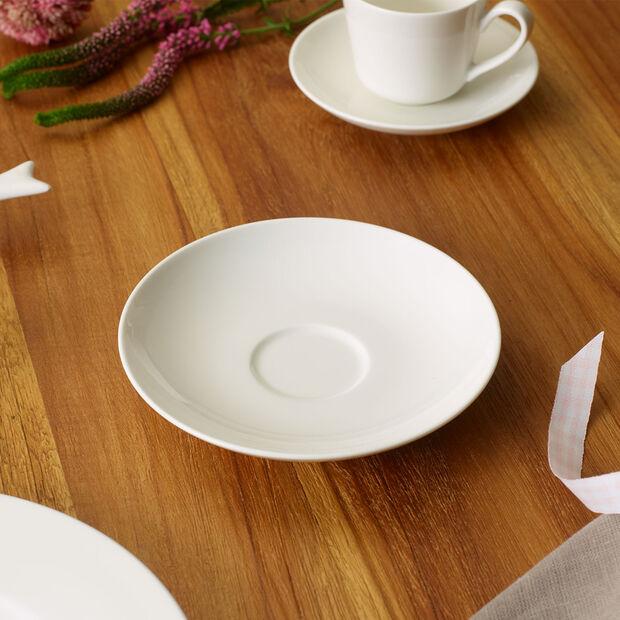 Twist White Saucer coffee/tea cup, , large