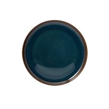 Crafted Denim breakfast plate, blue, 21 cm