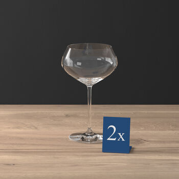 Purismo Bar champagne coupe 2-piece set