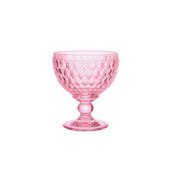 Boston Coloured champagne coupe/dessert bowl, rose, 12.5 cm