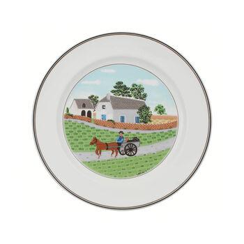 Design Naif dinner plate Farmer