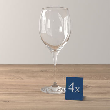 Maxima red wine goblet, 4 pieces