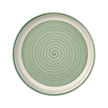 Clever Cooking Green round serving plate 26 cm