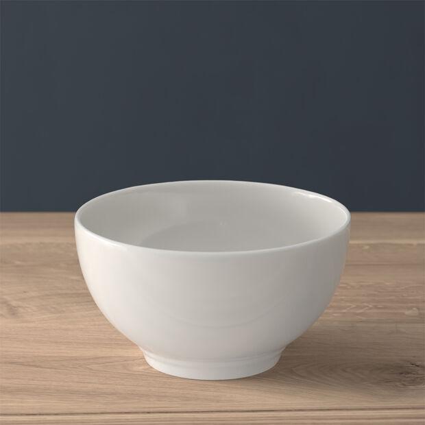 Twist White Bowl, , large