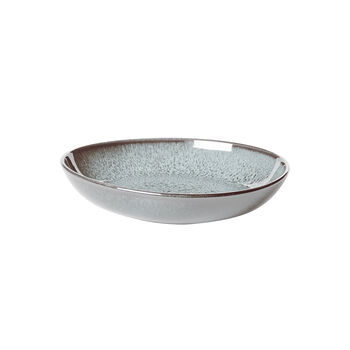 Lave Glacé small flat bowl, turquoise, 22 x 21 x 4.2 cm