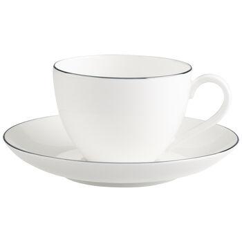 Anmut Platinum No.1 Coffee cup & saucer 2pcs