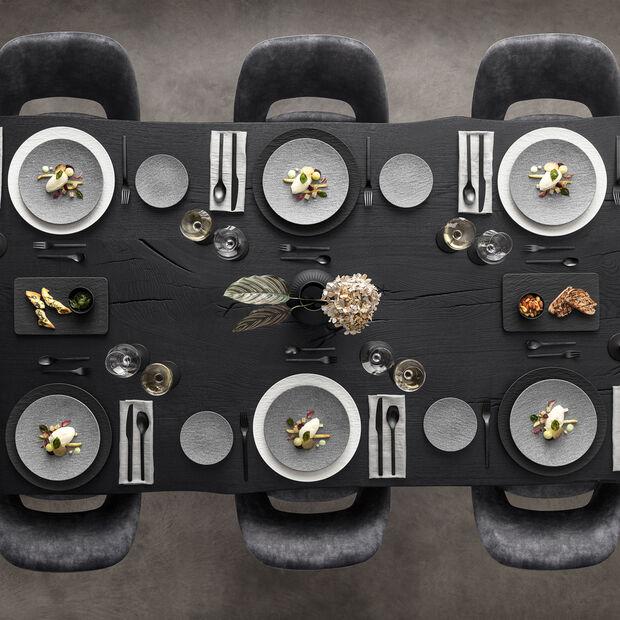 Manufacture Rock Granit plate, 25 cm, Grey, , large
