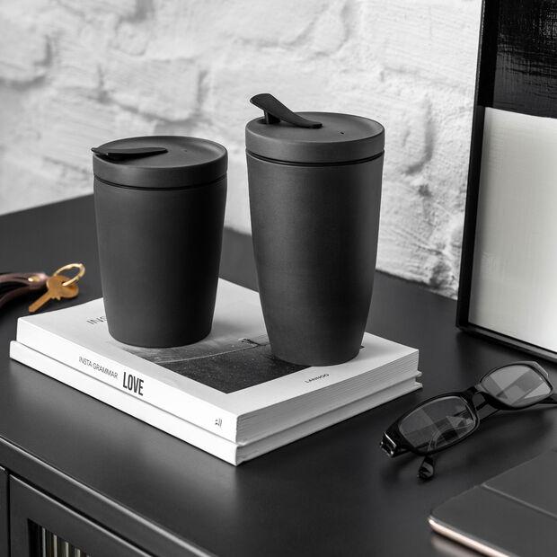 Manufacture Rock Coffee To Go travel mug, 290 ml, matt black, , large