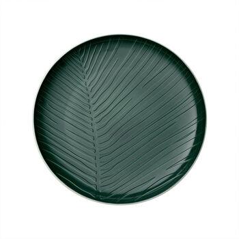 it's my match Green plate Leaf