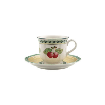 French Garden Fleurence Coffee cup & saucer 2pcs