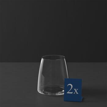 MetroChic water glass, 2 pieces, 110 cm, 565 ml