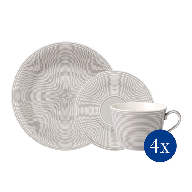 Color Loop Stone coffee set, stone, 12 pieces, , large