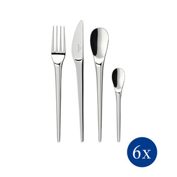 NewMoon table cutlery, 24 pieces