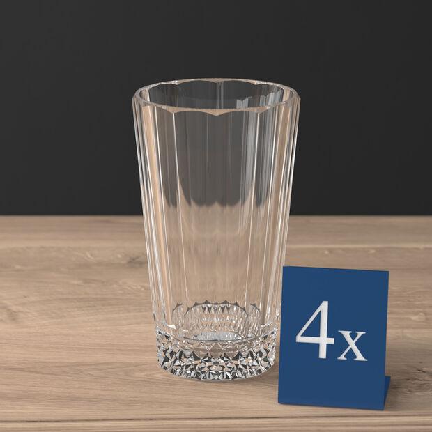 Opéra long drink glass 4-piece set, , large