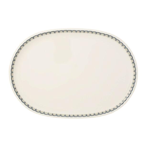 Casale Blu oval fish plate, , large