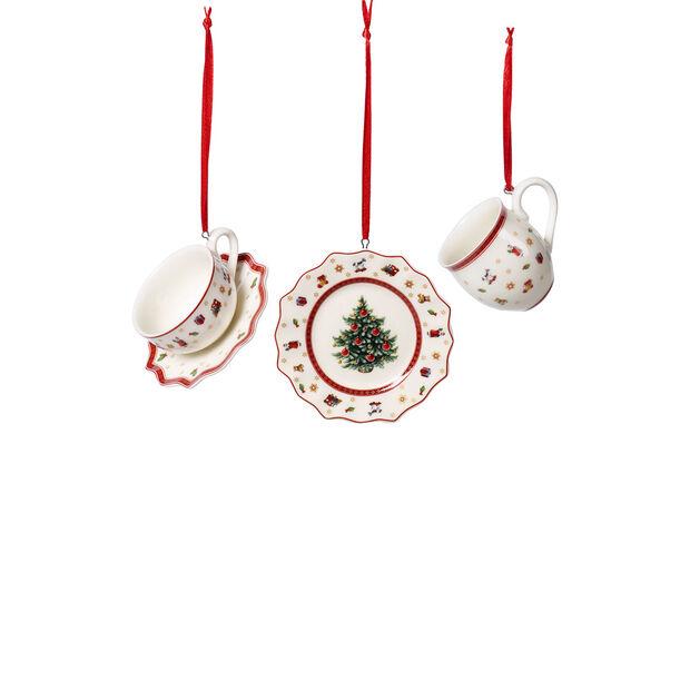 Toy's Delight Decoration Ornaments Tablewareset 3pcs. 6,3cm, , large