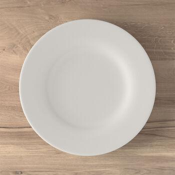 Twist White dinner plate
