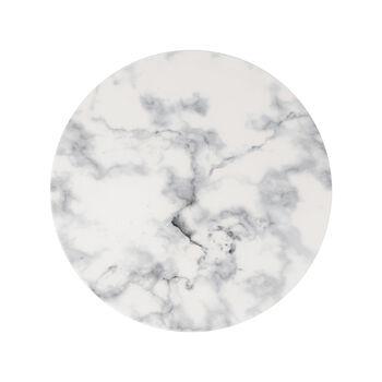 Marmory dinner plate white 27x27x1,5cm