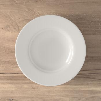 Twist White soup plate