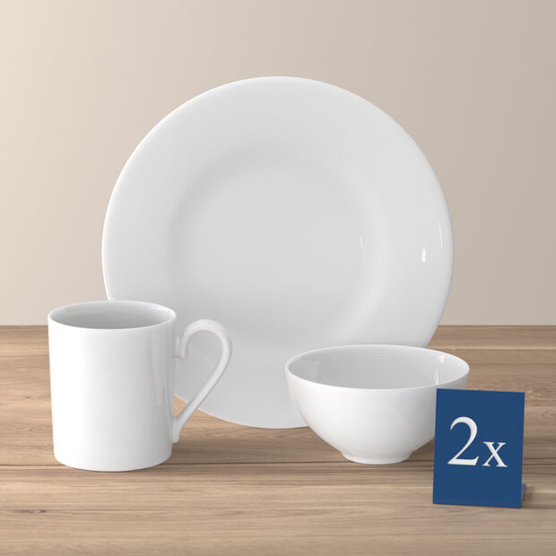 Royal breakfast set for two 6 pieces, , large