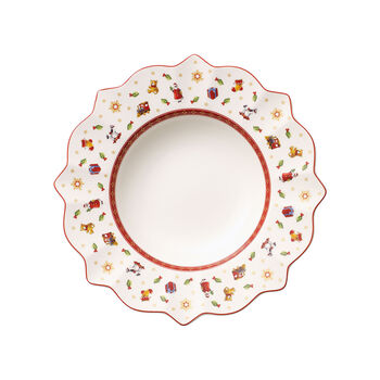 Toy's Delight white soup plate