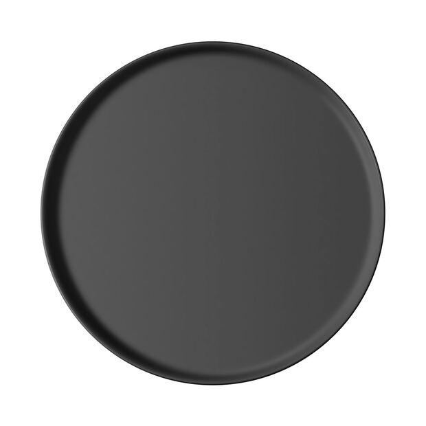 Iconic universal plate, black, 24 x 2 cm, , large