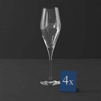 La Divina champagne flute, 4 pieces