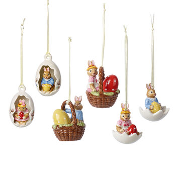Bunny Tales Ornament set, 6pcs.