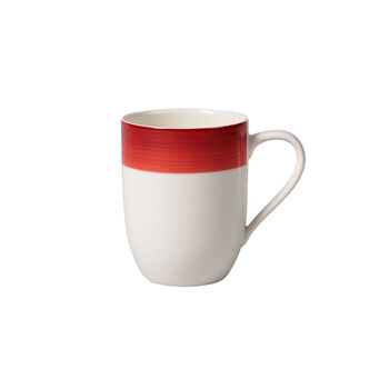 Colourful Life Deep Red coffee mug