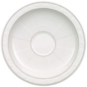 Gray Pearl mocha/espresso cup saucer