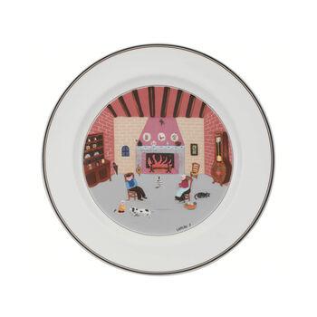 Design Naif dinner plate Fireplace