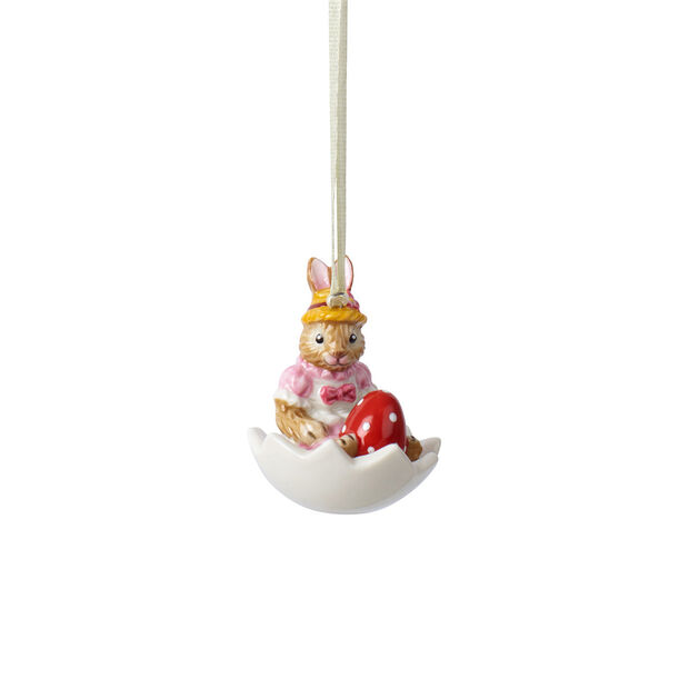 Bunny Tales ornament Anna in eggshell, , large