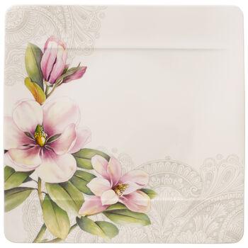 Quinsai Garden dinner plate Magnolia Motif D