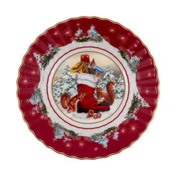 Toy's Fantasy small bowl boot, multicoloured/red/white, 16 x 16 x 3 cm