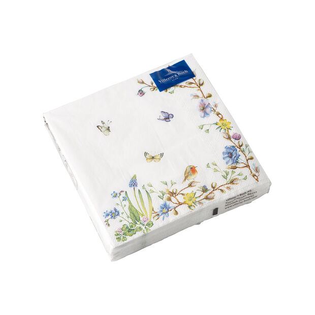 Easter Accessories napkins, flower tendril, 25 x 25 cm, 20 pieces, , large