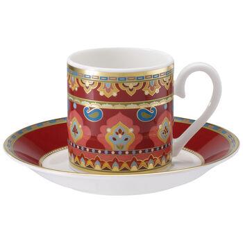Samarkand Rubin Espresso cup & saucer 2pcs
